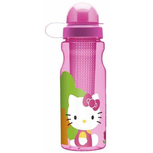 Hello Kitty Tritan Plastic Fruit Infuser Water Bottle 23.5 Oz front-726103