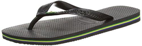 Havaianas Black Brasil Flip Flops - 45/46 EU (43/44 BR)