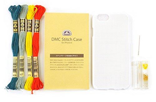 DMC クロスステッチ刺しゅうキット ステッチケース iPhone6 Blanc (ホワイト) iP6-DSC