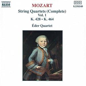 Mozart Streichquartette Vol 1 Eder
