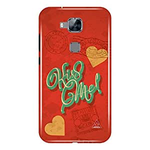 a AND b Designer Printed Mobile Back Case / Back Cover For Huawei G8 (HUW_G8_3D_3349)