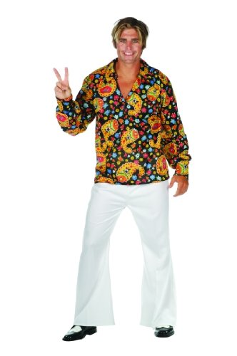 Adult 70's Disco Guy Costume Size Small (32-34)