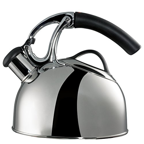 OXO Good Grips Uplift Tea Kettle, Induction Compatible, Polished