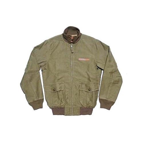 RRL ダブルアールエル Cotton Ashby Flight Jacket コットン アシュビー フライト ジャケット(ASHBY OLIVE) (M) [並行輸入品]