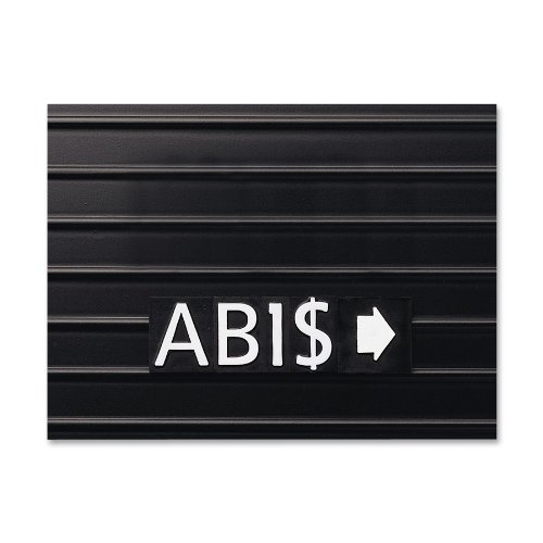 Quartet 0 75-Inch Characters for Magnetic Letter Boards Helvetica Font 128 Characters per Set White M3 4B00006IBFA