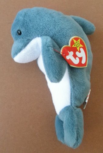 TY Beanie Babies Echo the Dolphin Plush Toy Stuffed Animal ty beanie babies echo the dolphin plush toy stuffed animal