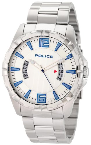 Police Men's Profile Watch 12889JS/04M with Bracelet