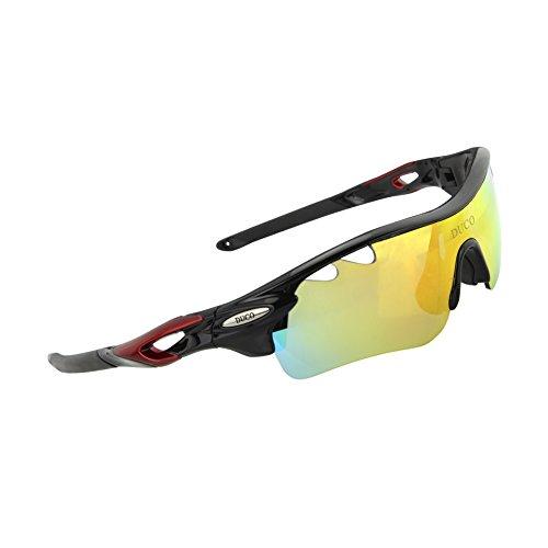 Duco Polarisierte Fahrradbrille Radfahren Sportbrille Sonnenbrille Schutzbrille 0025