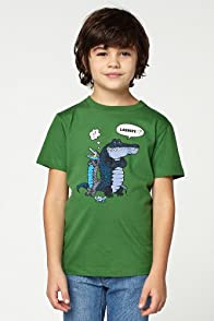 Boy's Short Sleeve Comic Crocs Graphic T-Shirt