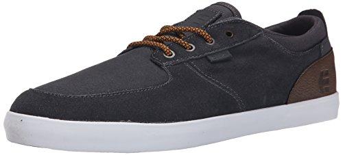 Etnies - Hitch Sneaker Herren Skate darkgrey white Skateschuh Sommer, darkgrey white, 45