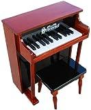 Schoenhut 25 Key Traditional Spinet Upright Piano Mahogany (Black)