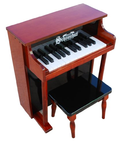 Schoenhut 25-Key Traditional Spinet with Bench (Kids Piano With Bench compare prices)