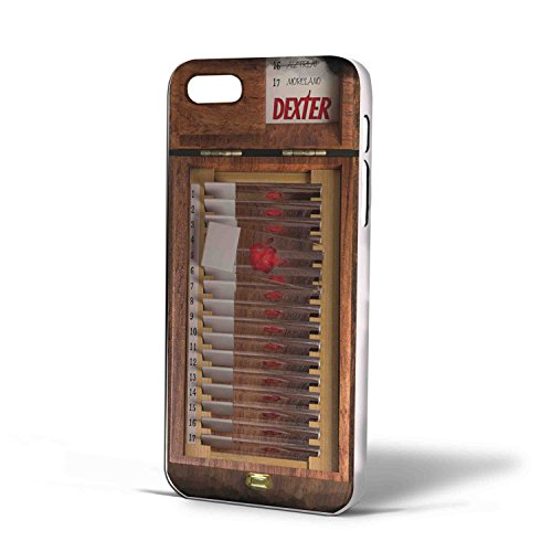Dexter Blood Slide Boxes for Iphone Case (iPhone 6 plus White)