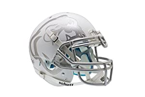 NCAA Mississippi State Bulldogs Authentic XP Football Helmet, Matte White by Schutt