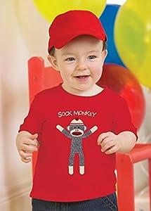 Sock Monkey Red T-Shirt (4T)