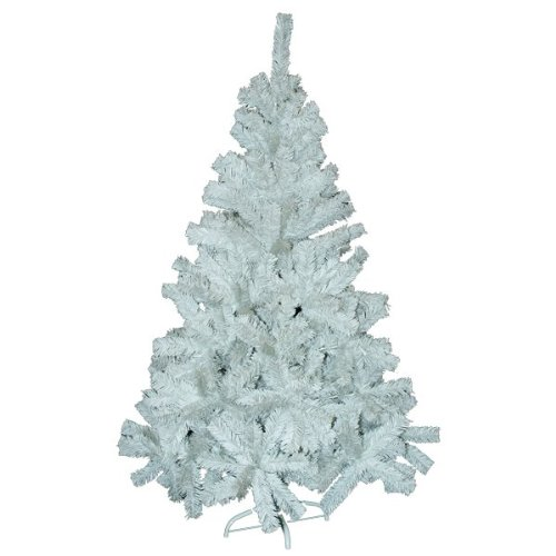 Kingfisher WHITE FERN CHRISTMAS TREE WITH STAND. 6ft / 180cm. 480 TIPS ON TREE. XMAS.