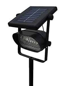 Outdoor Ultra Bright 6 LED Accent Solar Spot Light Metal Body(ST238) by SW Closeout