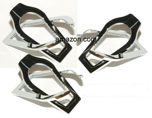 3 Chrome Metal Folding Tobacco Pipe Stand