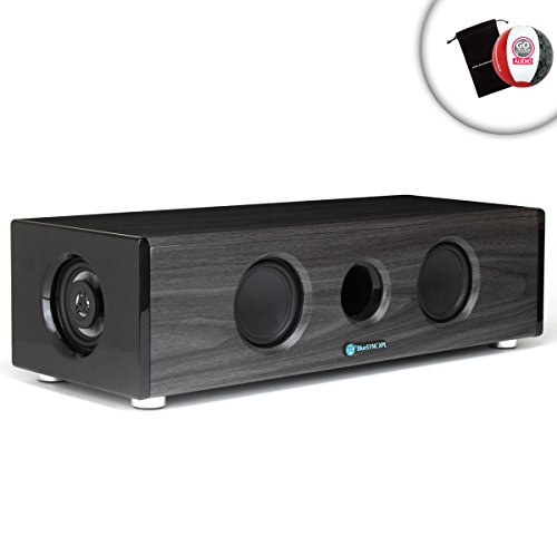 Gogroove Xpl Vinyl Records Stereo Speaker System With All In One Multimedia Center Package , Wireless Bluesync Technology And Premium Audio - Works With Electrohome Archertm , Crosley Vinyl , Pyle Home , Jensen And Studebaker Vinyl Players