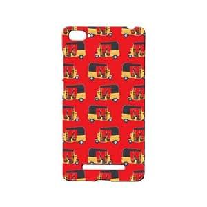 BLUEDIO Designer 3D Printed Back case cover for Xiaomi Mi4i / Xiaomi Mi 4i - G7973