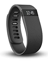 Fitbit Charge Wristband, Black, X-Large