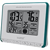 La Crosse Technology 308-1711BL Wireless Weather Station with Heat Index and Dew Point, Teal Blue/White