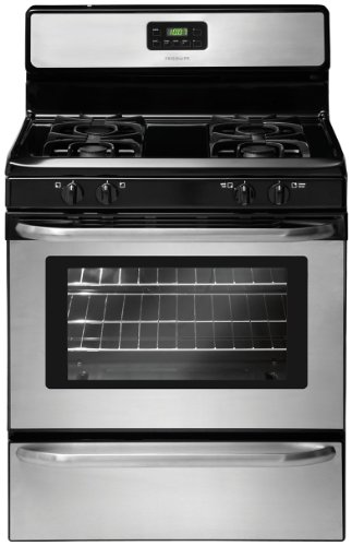 """Frigidaire FFGF3047LS 30"""" Wide Freestanding Gas Range with Sealed Burners in Stainless Steel"""