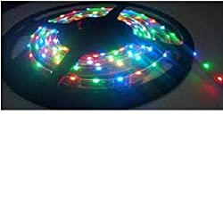 IWORLD Water Proof Smd Strip Led Light In With Changer,Remote & Adaptor, Multi-Color