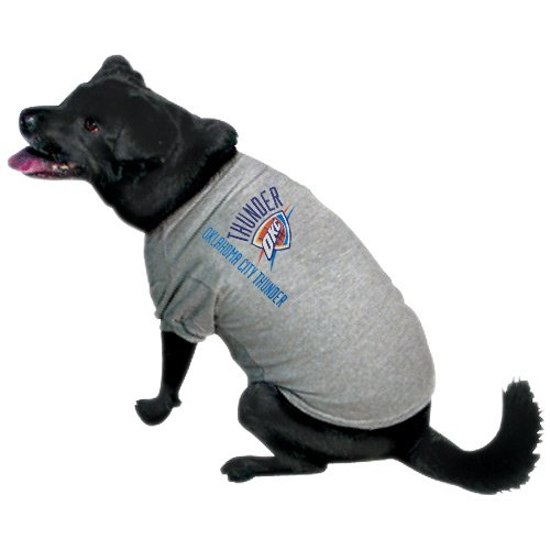Nba Oklahoma City Thunder Pet T-Shirt, Small, Team Color front-736002