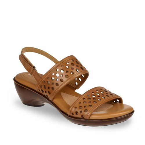 Naturalizer Women's Quick Slingback Sandal,Cookie Dough,8.5 M US