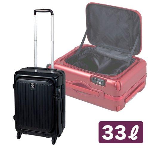 キャリーケース スーツケース T19(ブラック)LG02-T19B