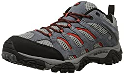 Merrell Men\'s Moab Ventilator Hiking Shoe,Granite/Lantern,13 M US