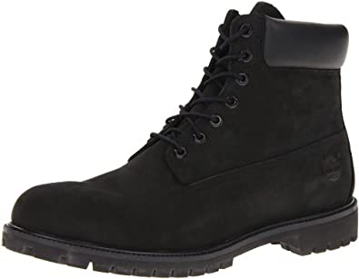 timberland classic 6 premium boots black