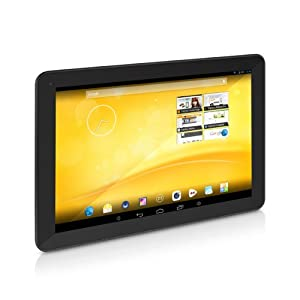 "TrekStor SurfTab xiron Tablette tactile 10,1"" (25,65 cm) ARM Cortex A9 Quad Core 1,6 GHz 16 Go Android Wi-Fi Noir"