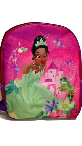 Disney Princess and the Frog Tiana Large Backpack - Full Size Backpack, Single large compartment