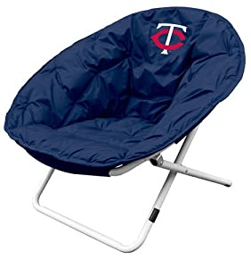 Logo Chairs 517-15 MLB Sphere Chair - Minnesota Twins by Logo Chairs