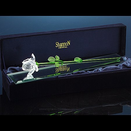CRYSTAL ROSE BOXED