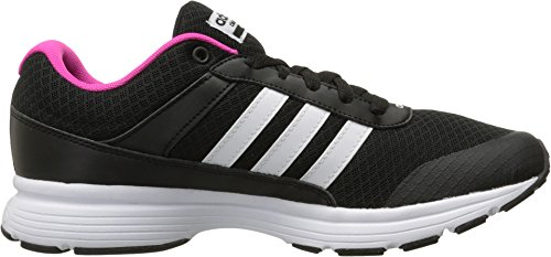 Adidas Performance Women's Cloudfoam VS City W Running Shoe, Black/White/Shock Pink S, 7 M US
