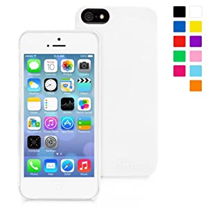 Snugg iPhone 5 / 5S Ultra Thin Case in White - High Quality Slim Profile Non Slip, Protective and Soft to touch for Apple iPhone 5 / 5S
