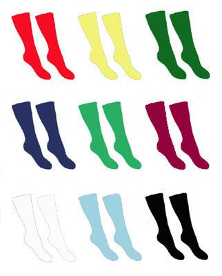 ND Sports Football, Hockey & Sports Socks, in Mens 7-11 Size - Bottle Green