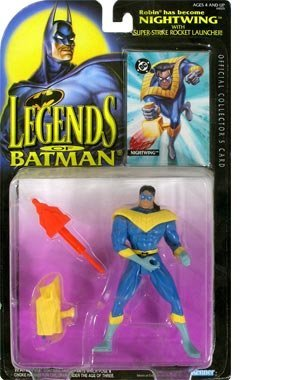 Legends of Batman: Nightwing with Super-strike Rocket Launcher