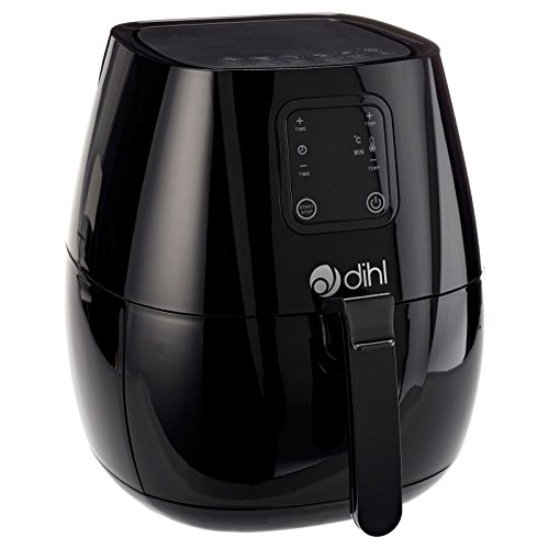 Dihl-LED-Digital-Air-Fryer-Rapid-Healthy-Frying-Hot-Grill-25-Litre-1300-W-Black