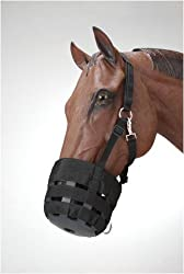 Heavy Duty Poly Nylon Grazing Muzzle & Nylon Halter, Pony [Misc.]