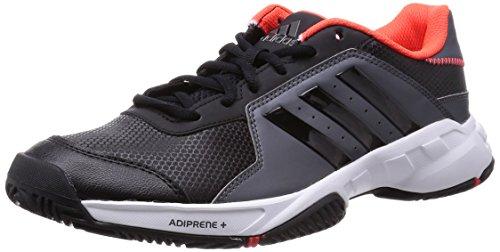 adidasBarricade Court - Scarpe da tennis uomo , Nero (Schwarz (Cblack/Cblack/)), 41 1/3