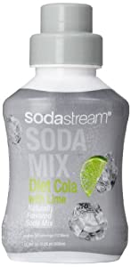 SodaStream Diet Cola Lime Syrup, 16.9oz