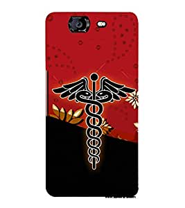 Dr Logo Graphics 3D Hard Polycarbonate Designer Back Case Cover for Micromax Canvas Knight A350