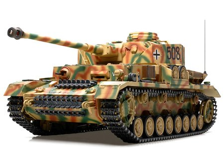 Tamiya 1/16 RC Tank German Panzerkampfwagen IV Aus. J Model Kit