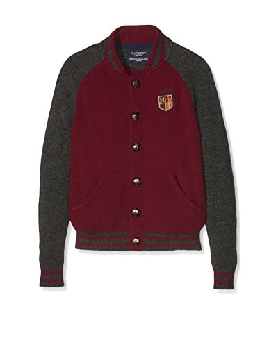 Hackett London Cardigan Lana Ragl Bomb B [Granato]