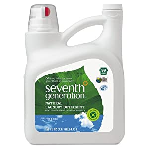 SeventhGeneration 22803 Natural 2X Concentrate Laundry Liquid