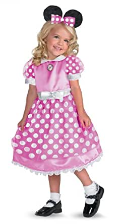 Minnie Mouse Clubhouse Pink Child Costume 50105